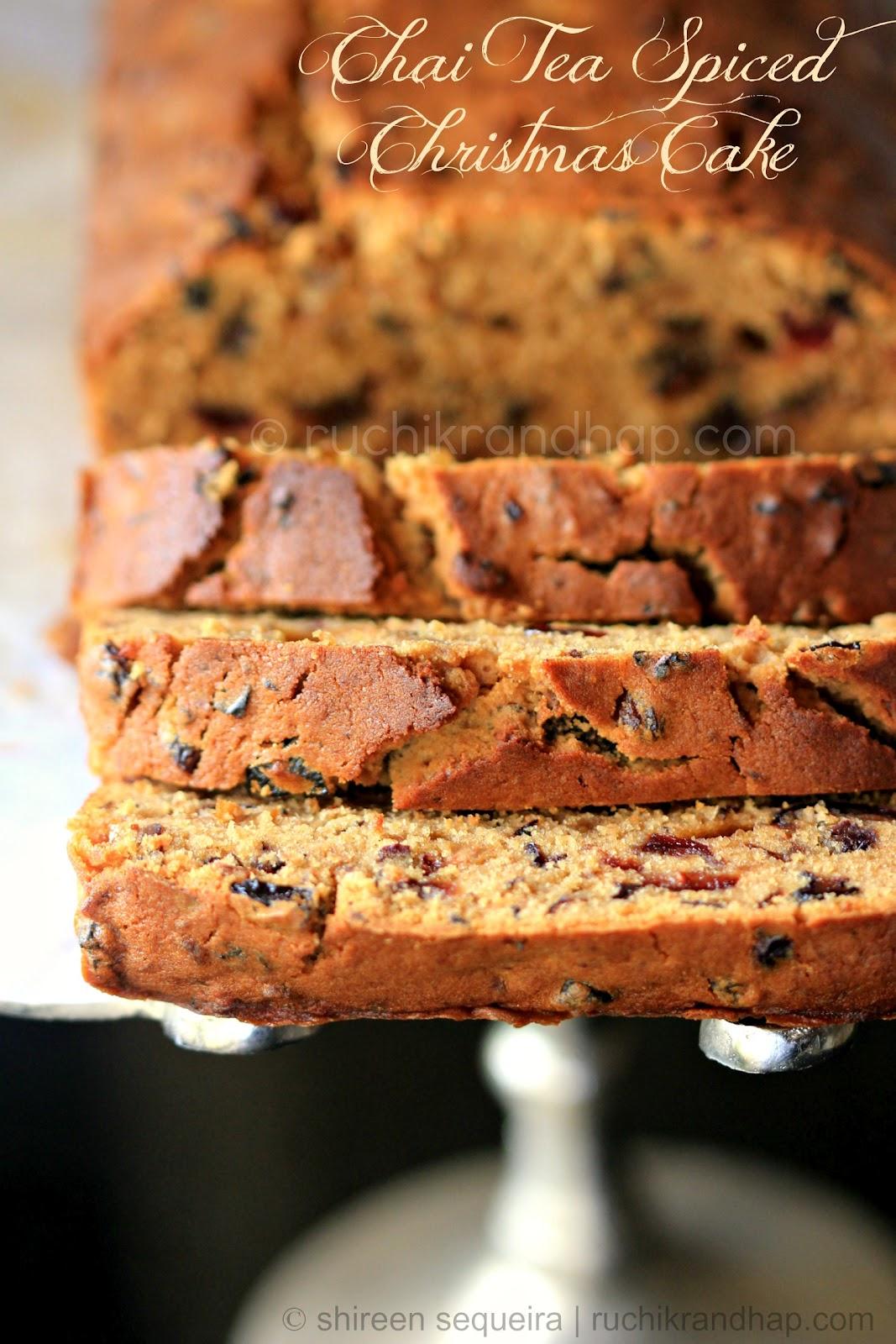 Dried Fruit Cake Loaf Recipe