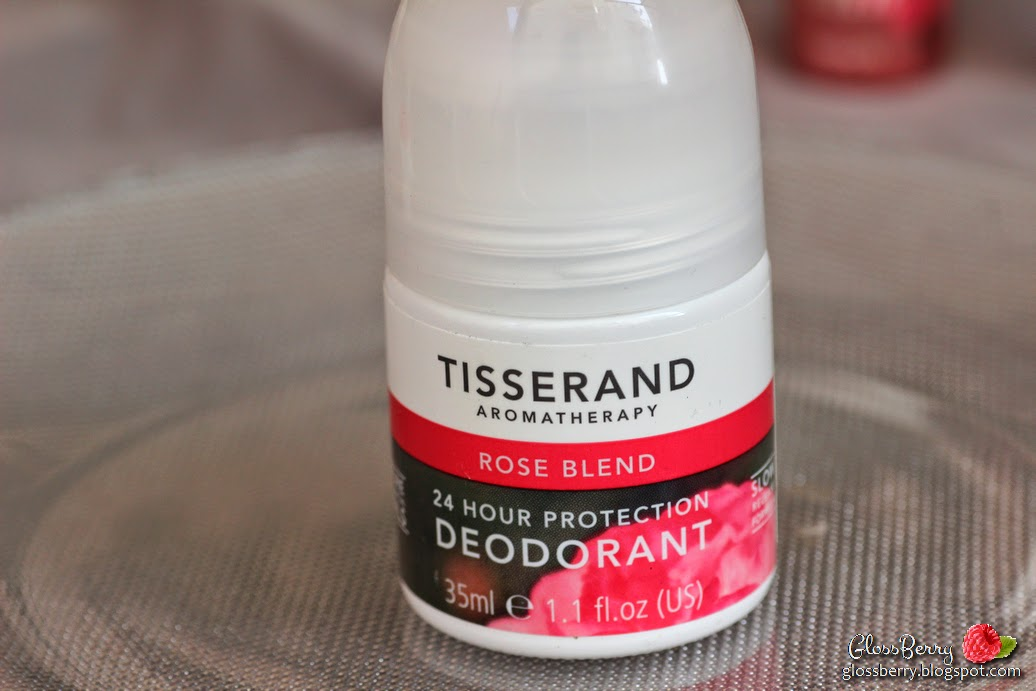 tisserand rose blend deodorant review natural aluminium free deo review דאודורנט ללא אלומיניום טיסרנד