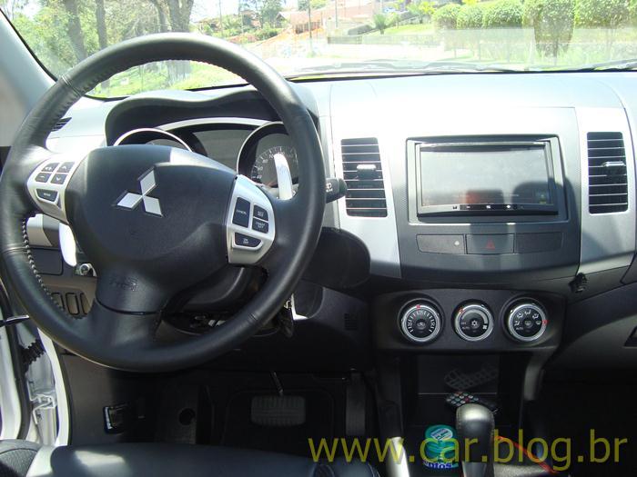 Mitsubishi Outlander 2.0L 2012 - painel de instrumentos