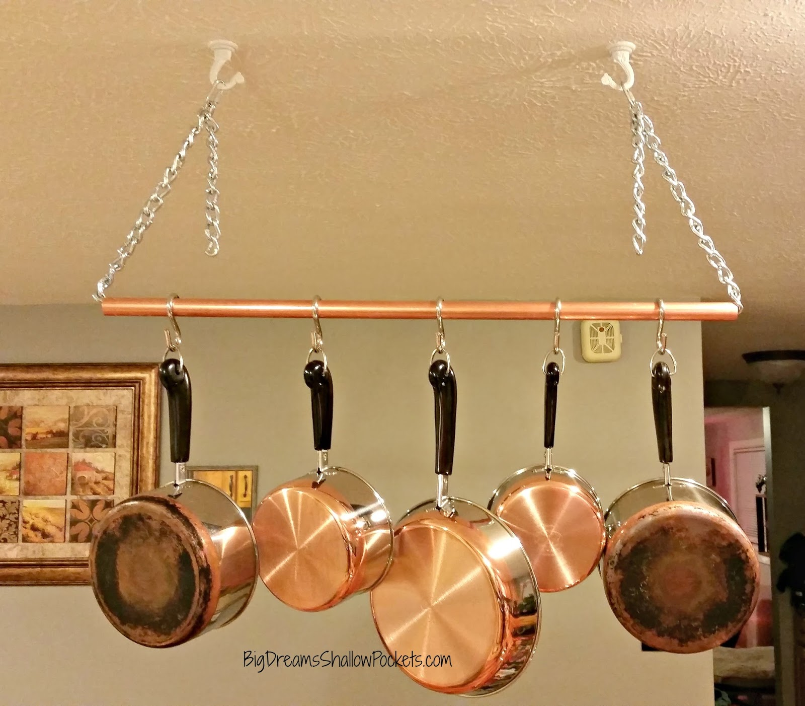 1000 images about pot rack on pot racks images and pan rack