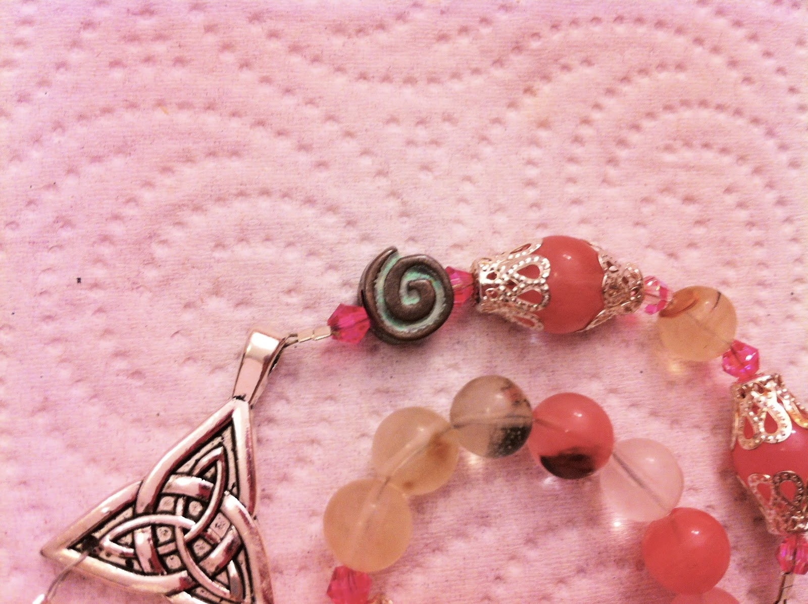 Review time review time goddess prayer beads by magick alive the triquetra is also said to represent family father mother and child and the interconnected parts of our existence mind body and soul buycottarizona