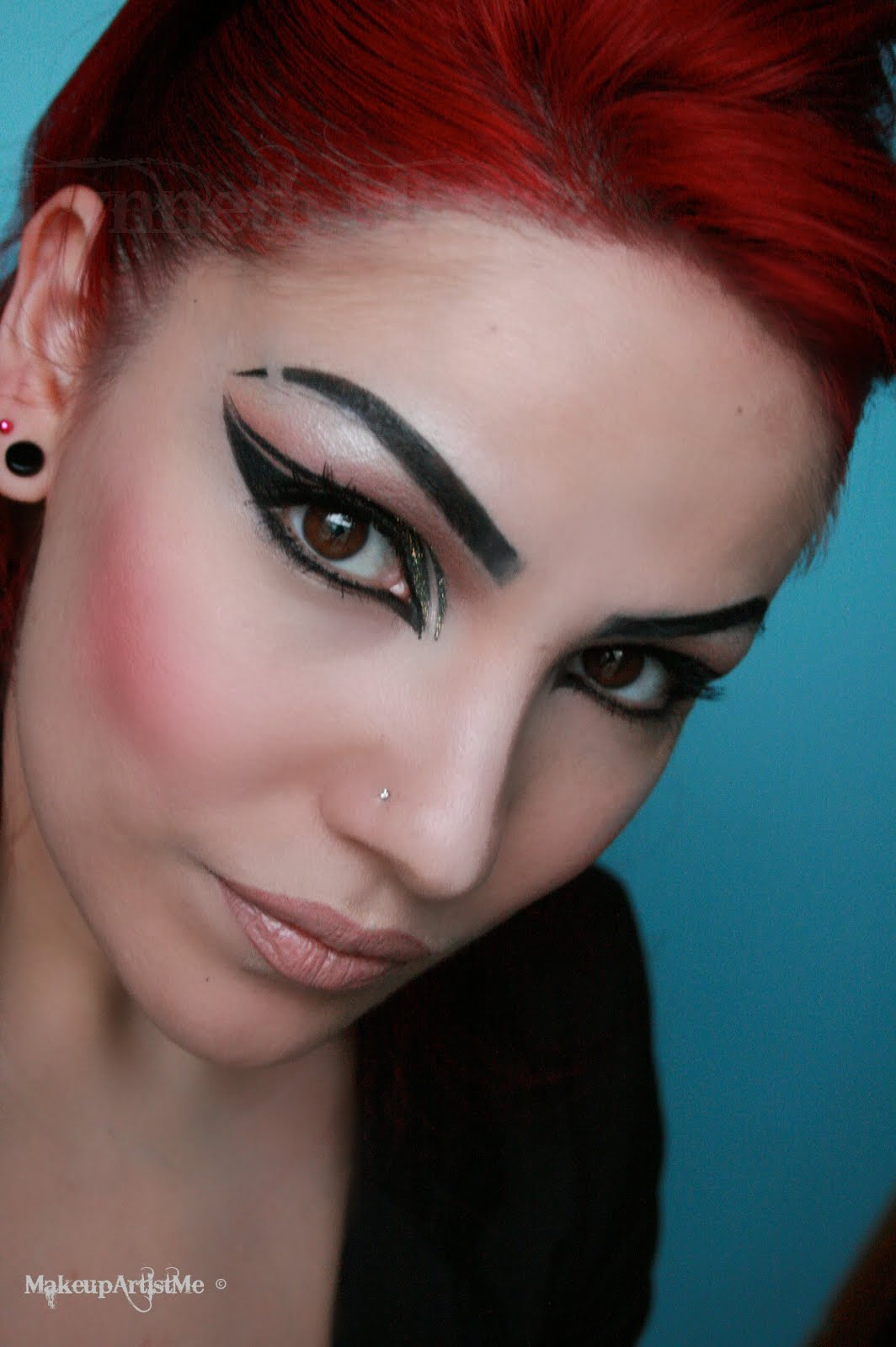 Make-up Artist Me! Rock Star! Makeup Look (no Tutorial)