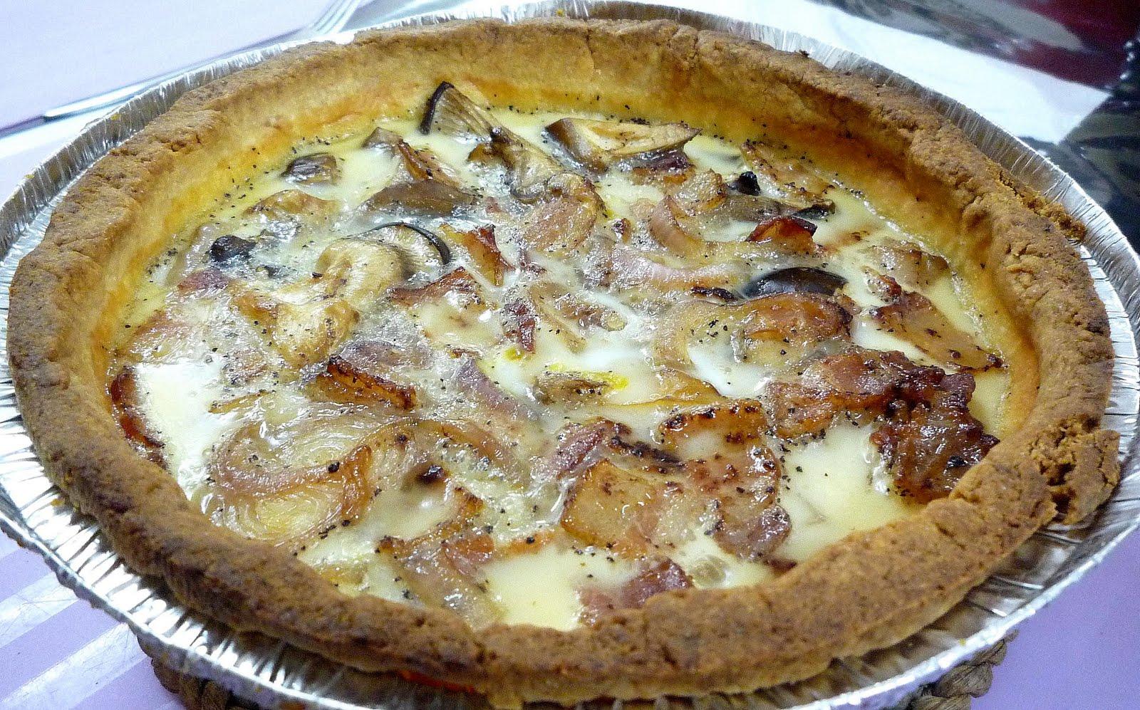 ... Travel Tale: Bacon & Mushroom Quiche and Segafredo Espresso