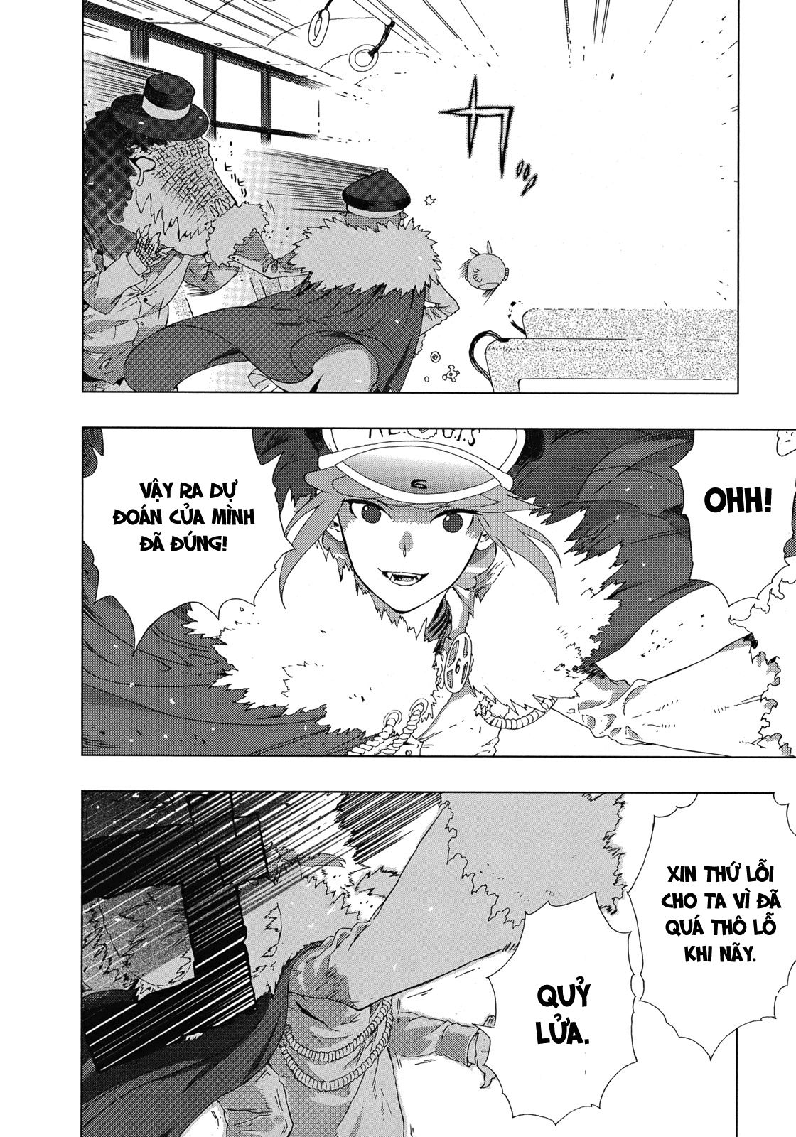Witch Craft Works chap 5 page 39 - IZTruyenTranh.com