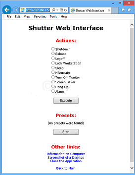 تحميل برنامج Shutter 3.2 للتحكم فى تشغيل الجهاز