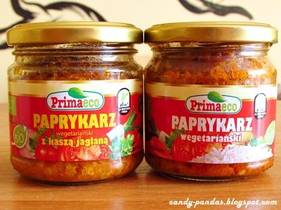 Paprykarz wegetariański z kaszą jaglaną/ryżem - Primaeco/Primavika