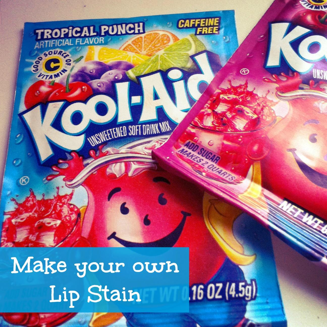 Kool Aid Nail Polish Stains: Sunshine Maker Meg: Frugal Fridays