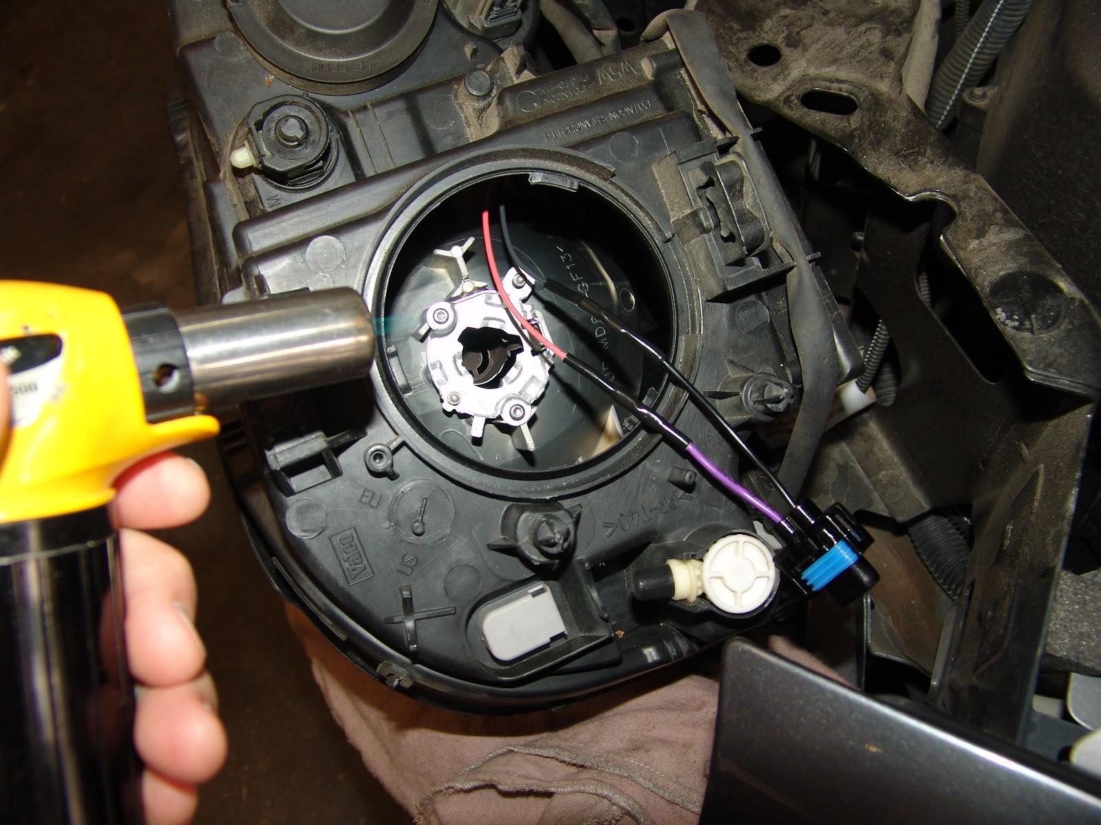 2008 Volvo XC90, Headlight Does Not Work