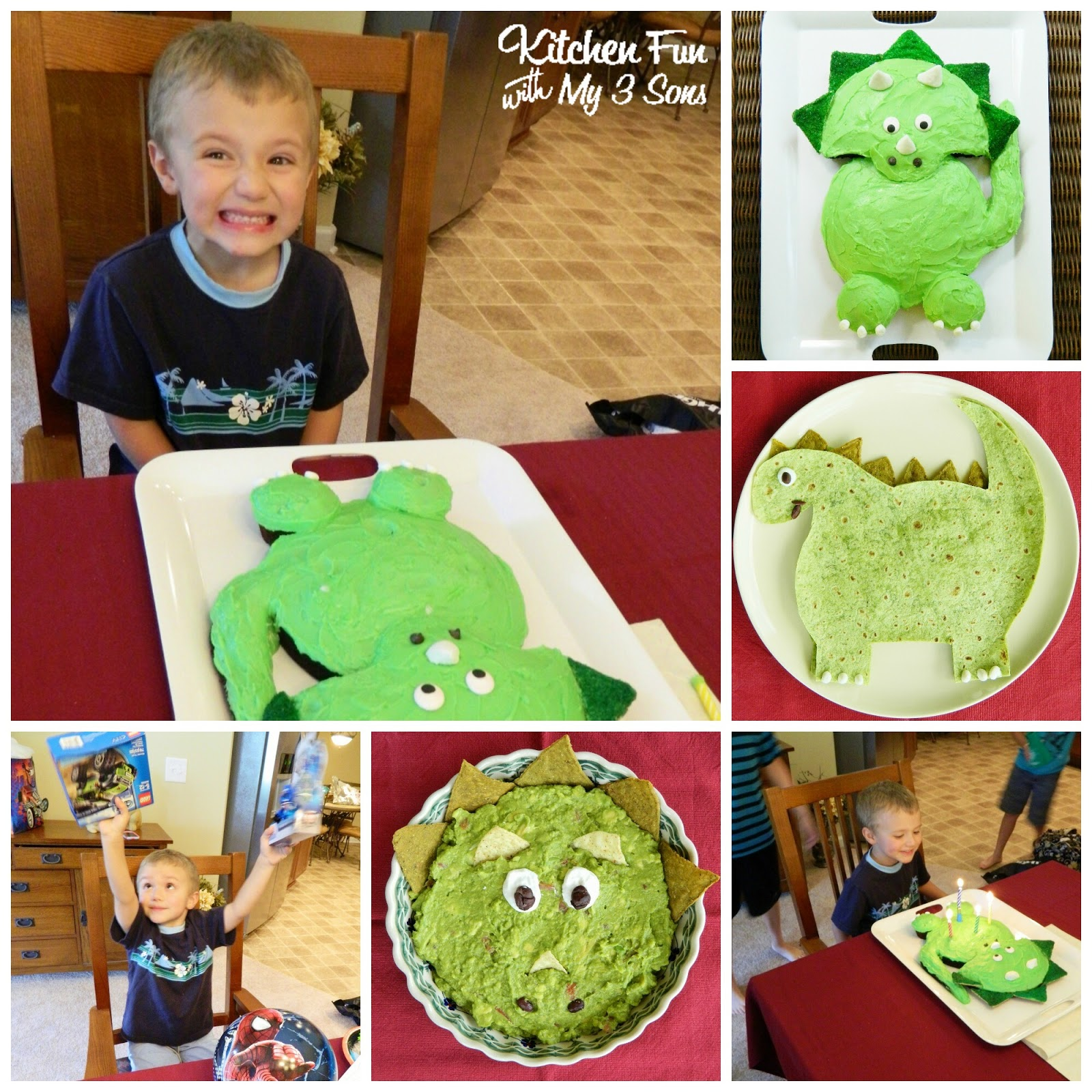 Dinosaur Birthday Party For 3 Year Old Image Inspiration of Cake