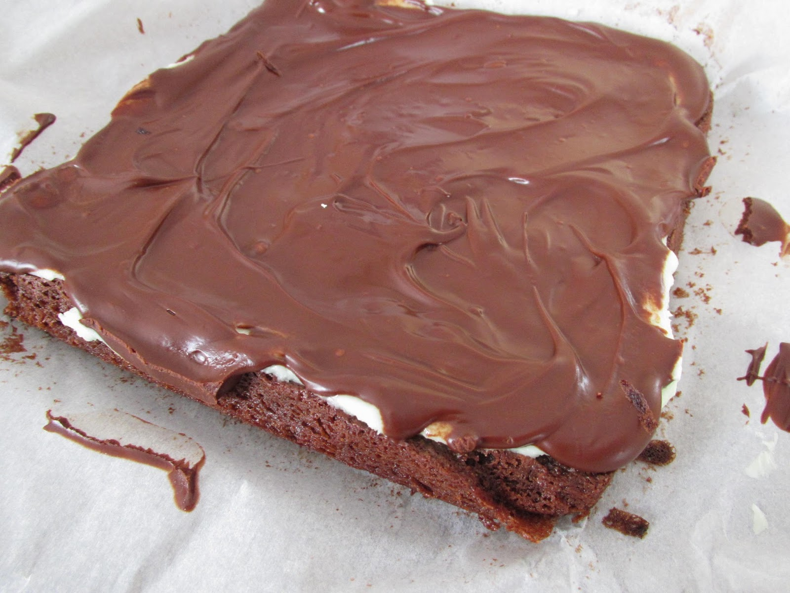 Gluten Free Mint Chocolate Brownies
