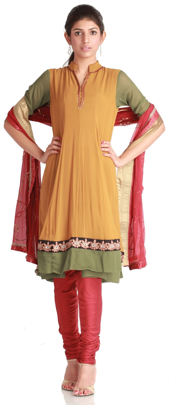 Indian woman dress with pants