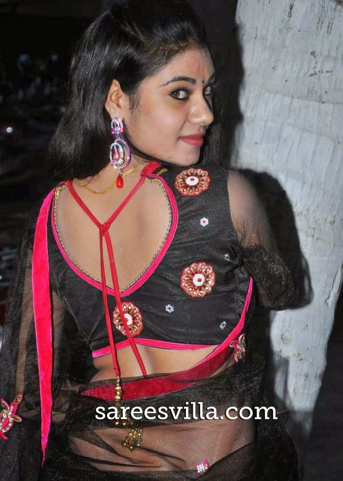 Nivisha Back Blouse Design