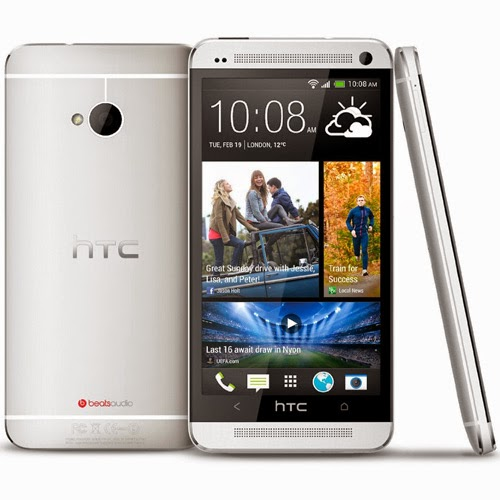 Best cell phone  HTC One M7 Silver