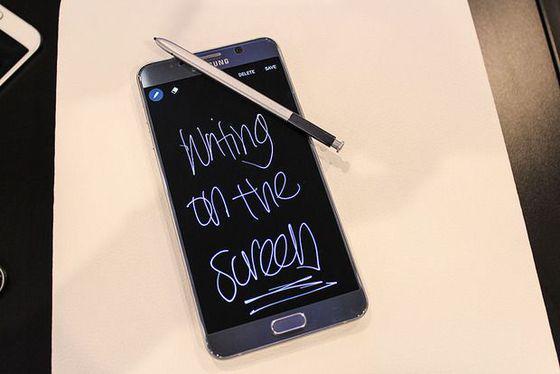 O Screen Write do Galaxy Note 5 pode ser usado a partir da tela de standby