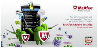 app android McAfee Antivirus