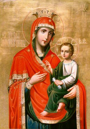 Схема Иконы Божией Матери ''