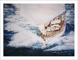 cuadro de un barco