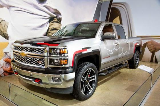 2015 Chevrolet Silverado Toughnology Concept Truck