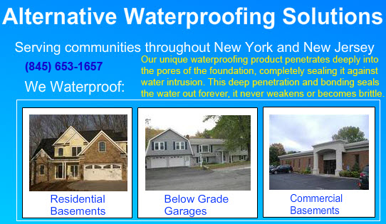 Waterproofing your basement