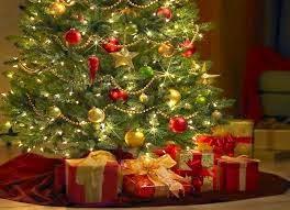 Árbol con regalos