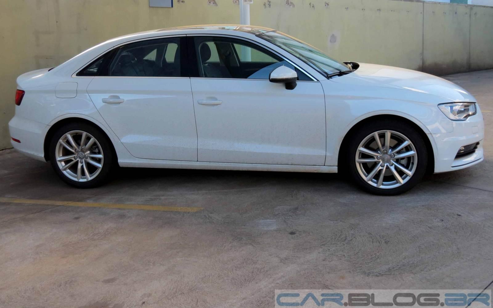 Audi A3 Sedan Nacional: câmbio TipTronic e suspensão traseira semi-independente