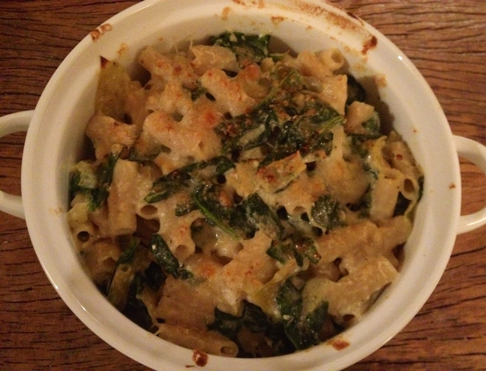 The Sustainable Palate: Baked Artichoke, Spinach, and Ricotta Penne