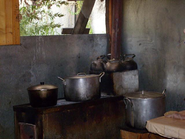 наша армейская кухня в Магасе