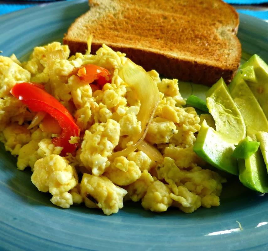 how to cook scrambled egg whites
