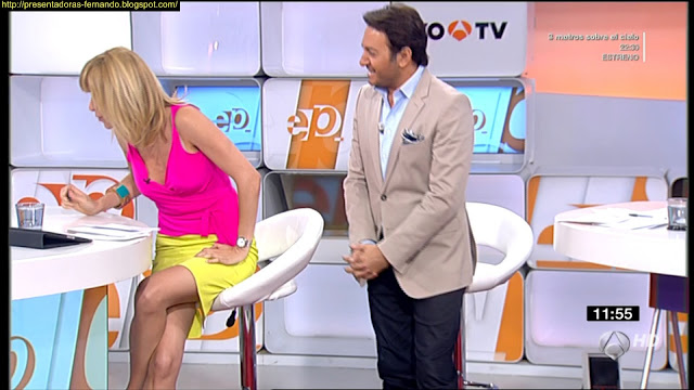 Susana Griso piernas
