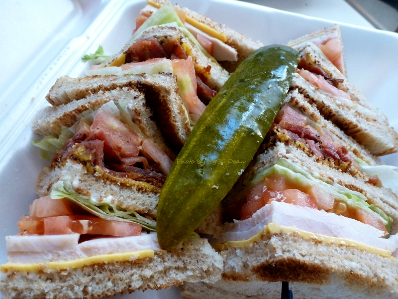 ... club sandwich turkey club sandwich salad recipes dishmaps turkey club