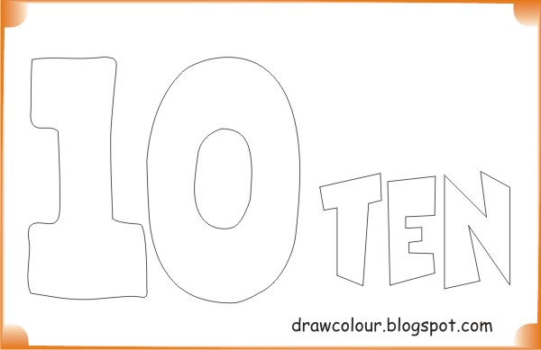 printable-ten-coloring-pages