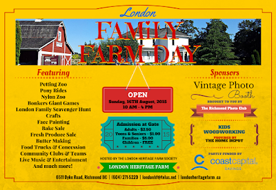 London Family Farm Day 2015 Program and Admission