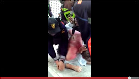 VIRAL VIDEO: BGC guards beat up, arrest British men