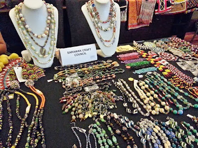 WireBliss - Local Sarawak Beads at BIBCO 2013