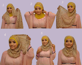 model jilbab yang trand