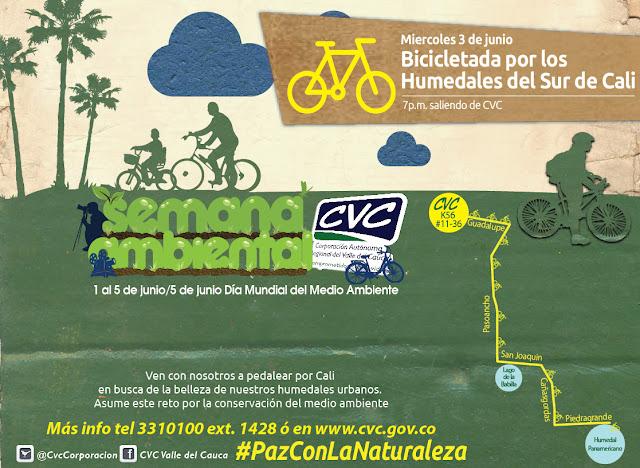 Bicicletada Humedales