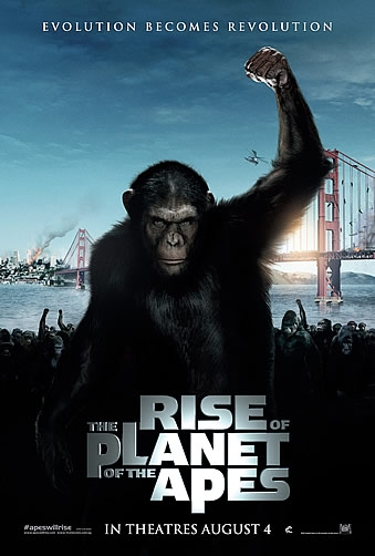 Rize Of The Planet Of The Apes Poster 1