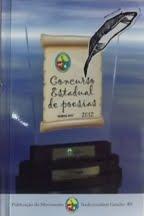 "2012 - Livro do ""Concurso Estadual de Poesias ""Sempre MTG"" """