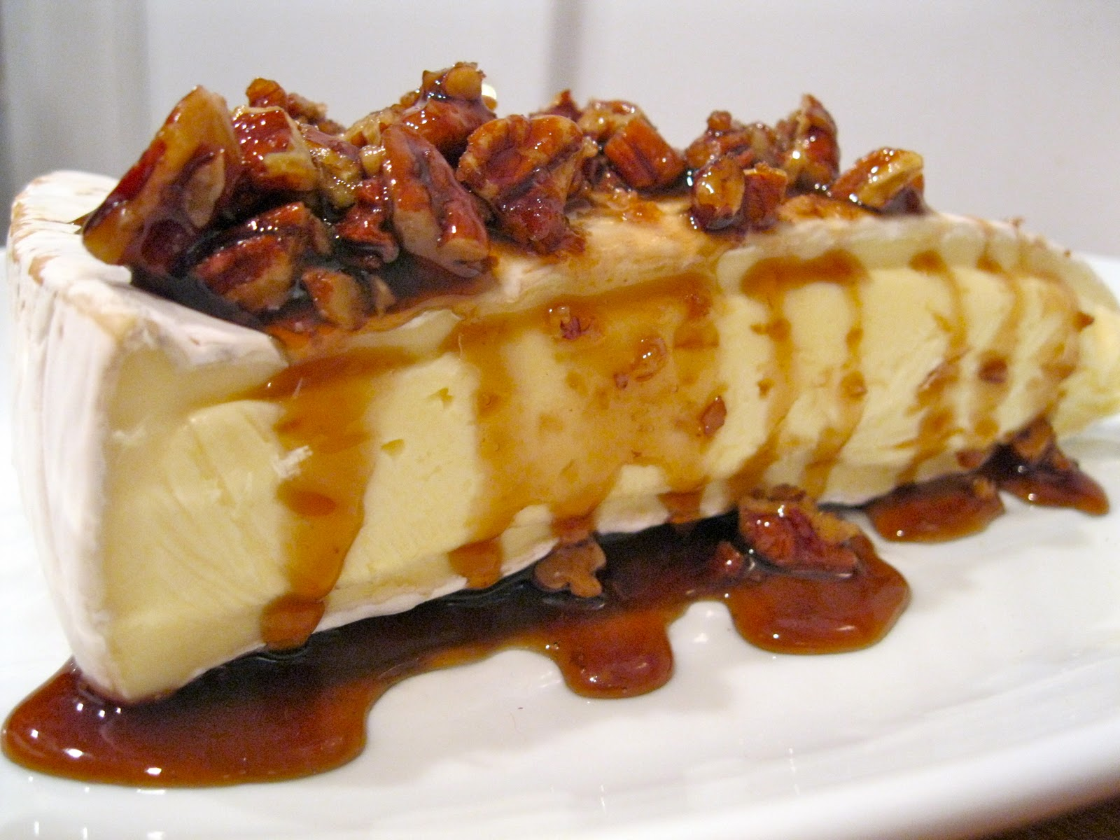 rum maple and pecan topped brie 8 oz wedge of brie cheese 3 t dark rum ...