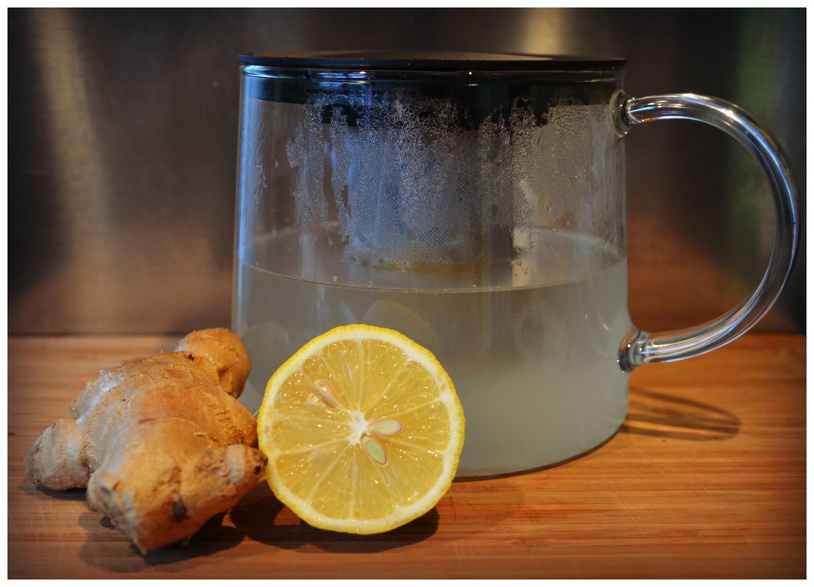 gember citroen en honing