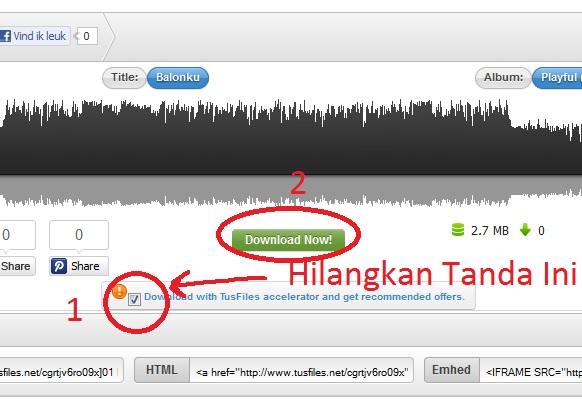 Tips Download di Tusfiles.net, lihat gambar dibawah ini:
