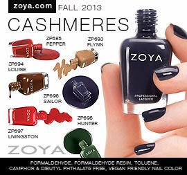 Zoya Nail Polish: Cashmeres