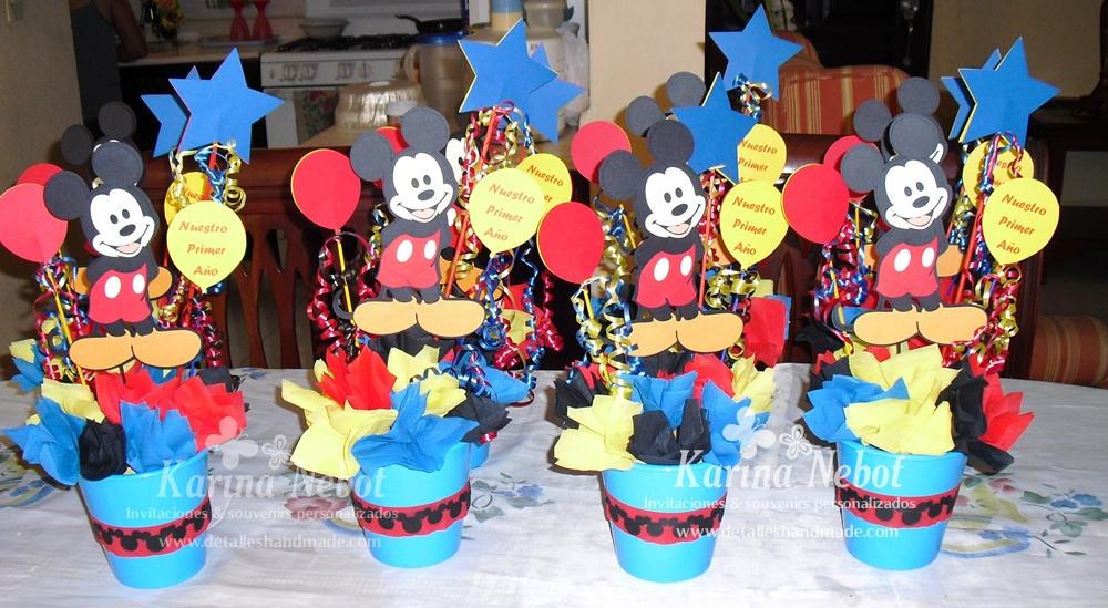 Karina Nebot: Cumpleaños Mickey Mouse
