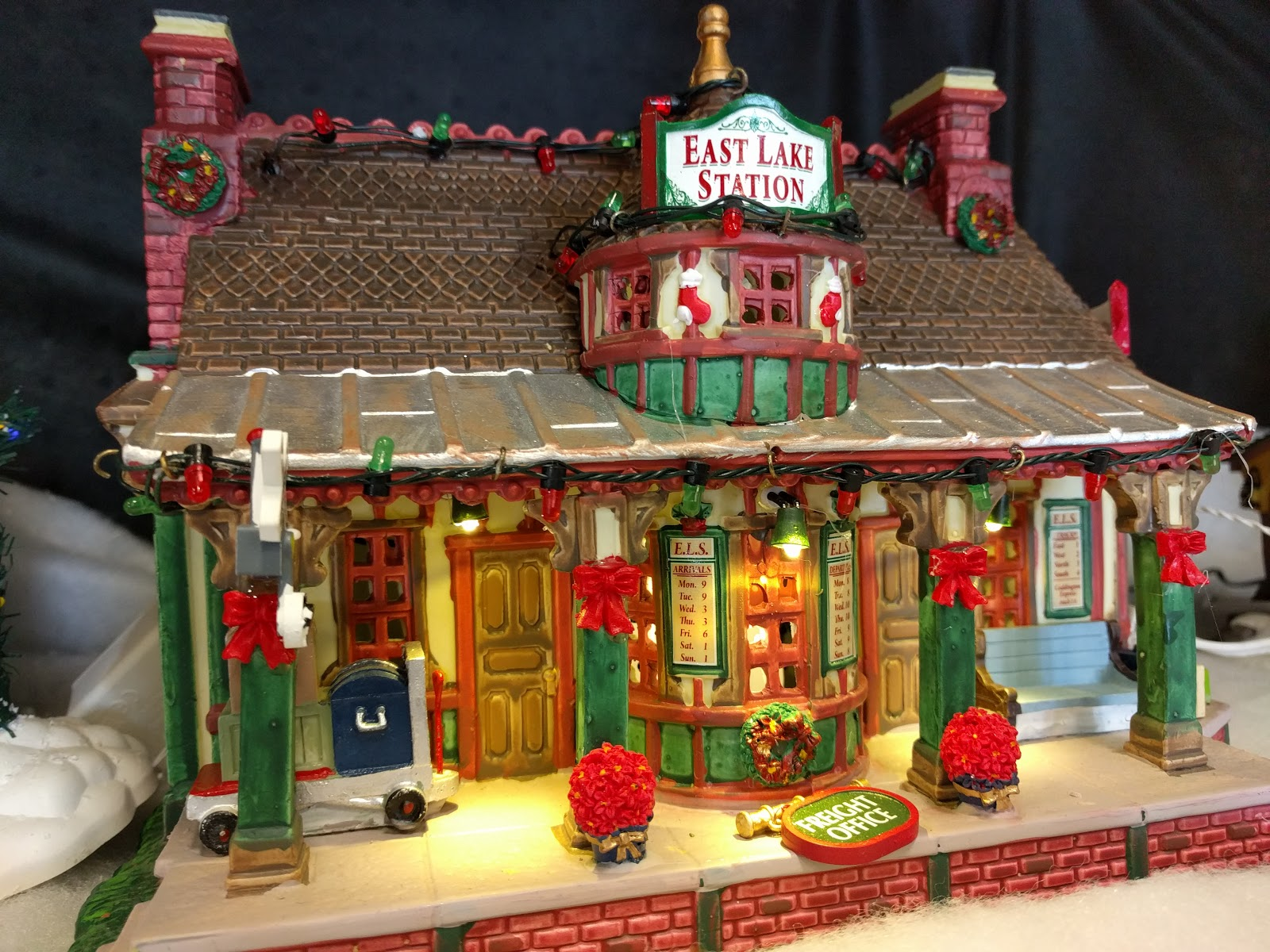 Lemax East Lake Station At Menards Christmas Village