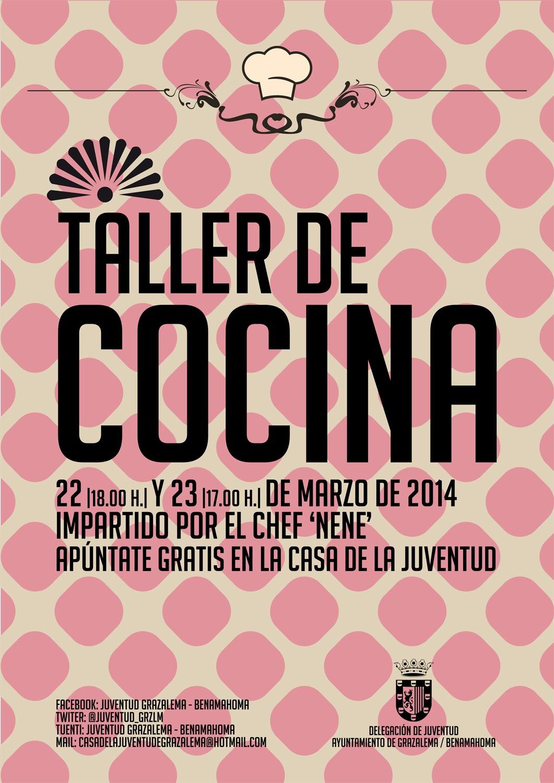 Radio grazalema taller de cocina para j venes en grazalema los d as 22 y 23 de marzo - Carteles de cocina ...