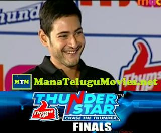 Mahesh Babu at Thumps Up Thunder Star Finals -E 9 :5th Aug