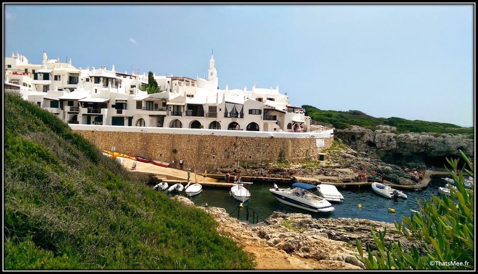 Binibeca Binibequer village blanc pecheurs Menorca Minorque escaliers Baléares Mediterranée