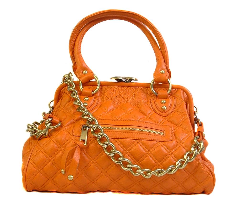 Stylish orange hand bag here everythink is stylish for Designer bad