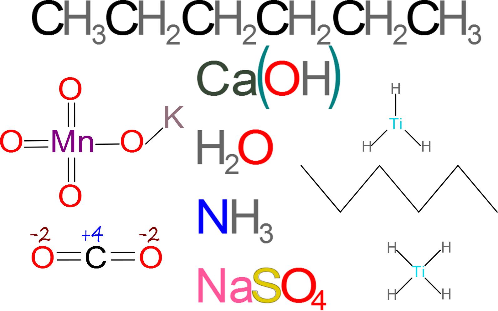 Formulas Quimicas Inorganicas Fórmulas en Química