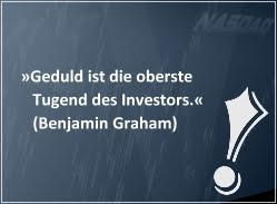 Investiere wie Benjamin Graham